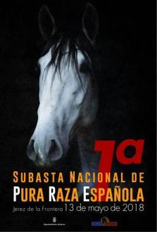 ANCCE | Organized by the Jerez City Hall, the 1st National Elite PRE Horse Auction Catalog is now Available