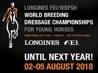 ANCCE | Six Purebred Spanish Horses to participate at the 2018 World Breeding Dressage Championships for Young Horses in Ermelo