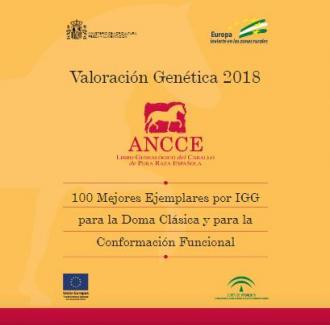 ANCCE | 100 Best PRE horses in 2018 based on Global Genetic Index (GGI) for Dressage and Functional Conformation
