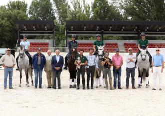 ANCCE | PRE horses/riders selected for the 2019 World Breeding Dressage Championships for Young Horses